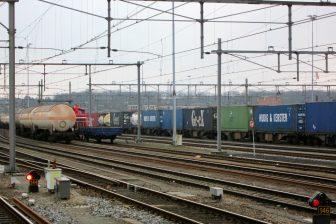 Goederentreinen, station Venlo