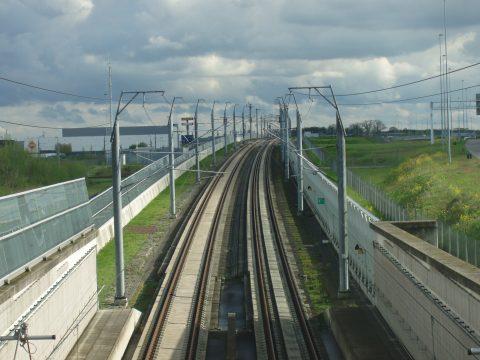 HSL-spoor Prinsenbeek