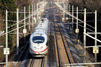 Hogesnelheidstrein ICE Deutsche Bahn