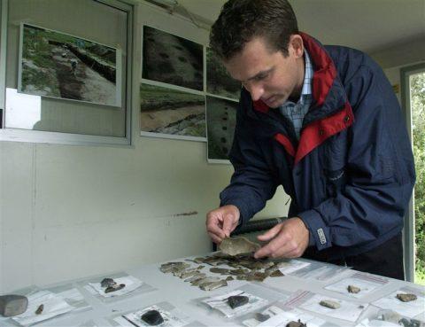 hanzelijn, archeologie, vondst, spoorweg, spoorbouw