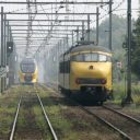 trein, NS, stoptrein, intercity, spoor, rails
