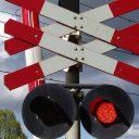 Andreaskruis spoorwegovergang