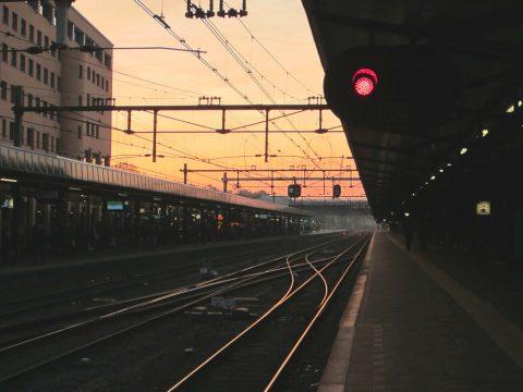 Rood sein, trein