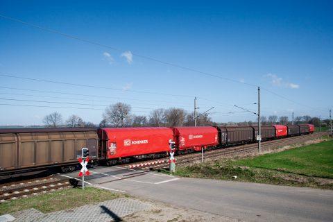 DB Schenker, goederentrein, spoor, goedenvervoer