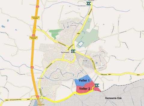 Locatie station Barneveld Zuid