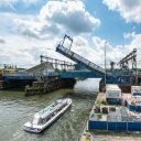 Oosterdoksluisbrug, Amsterdam, foto: Jos van Zetten