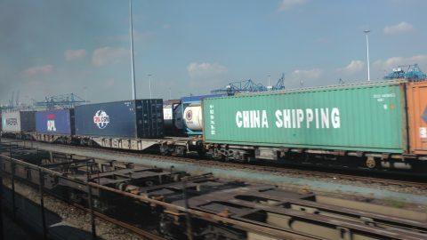 Goederentrein, spoorgoederenvervoer