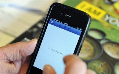 Smartphone, mobiele telefoon, gsm