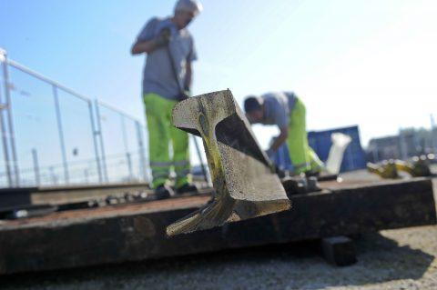 Spoorbouw, werkzaamheden