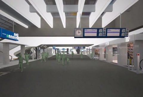 tunnel, station, Eindhoven