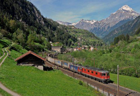 Gotthard, spoorlijn, Zwitserland