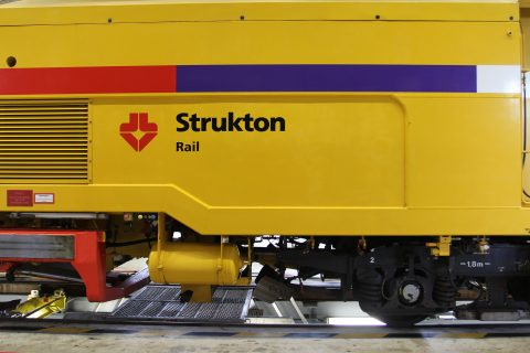 Strukton Rail, logo