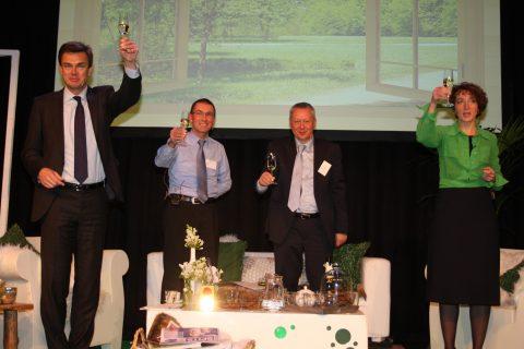 Congres, Railcollege, Harry van de Kraats, André Horn, Frank van Spaandonk, Astrid Feiter, foto: Toon Akkermans