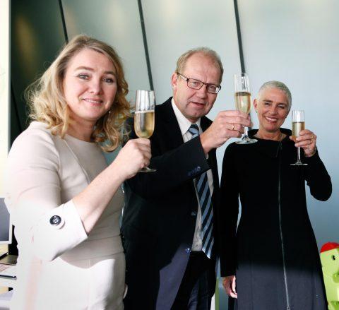Melanie Schultz van Haegen, Joop Atsma, Wilma Mansveld