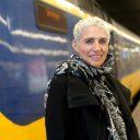 Staatssecretaris, Wilma Mansveld, trein