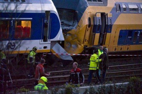 treinongeluk, Amsterdam, april 2012