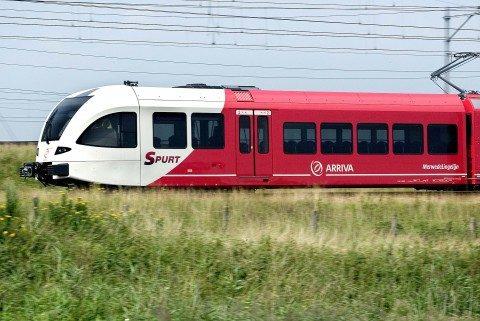 Spurt, Arriva, trein