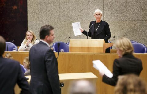 Minister Schultz van Haegen, Staatssecretaris Mansveld, Tweede Kamer