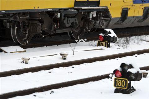rood sein, spoor, rails