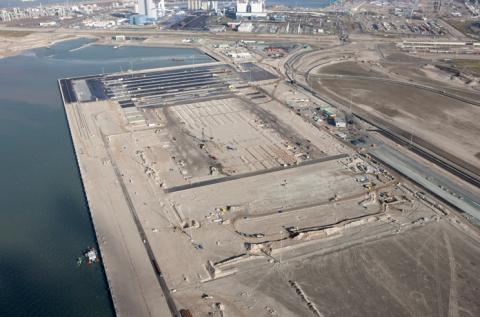 Containerterminal, Maasvlakte 2, Rotterdam