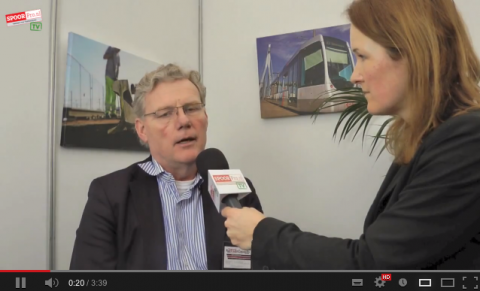 Jan Lindeman, directeur, RailTrade Capacity, Rail-Tech Europe 2013