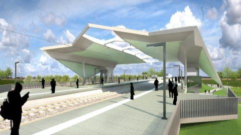 ontwerp, station, Nijmegen-Goffert