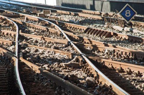 wissel, spoor, rails