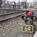 Rood sein, station Tilburg Universiteit