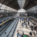 station, Amsterdam centraal, perron