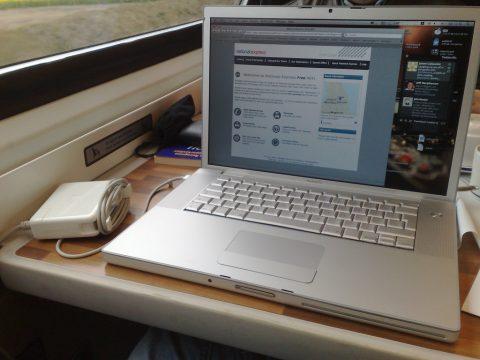 WiFi, trein, National Express