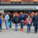 Koninginnedag, Amsterdam Centraal