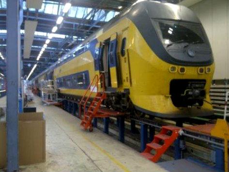 Werkplaats, NedTrain, trein NS