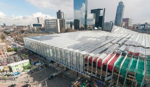 Rotterdam centraal station, dak