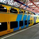 Trein, NS, station, Almere