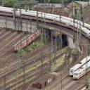 Treinen, Deutsche Bahn, station Mainz, Duitsland