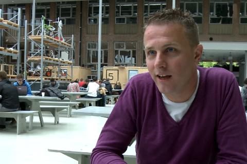 Daniël Kamphuis, student, Hogeschool Utrecht