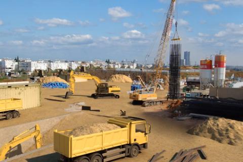Werkzaamheden, lightrail-project, Tel Aviv