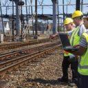 hitteschouw, spoor, rails, Strukton Rail