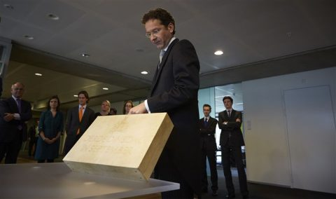 Jeroen Dijsselbloem, minister van Financiën, Prinsjesdag