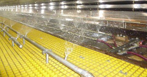 De-icing installatie, Ballast Nedam