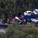 treinongeluk, Voeren, goederentrein, België