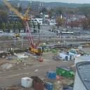 Werkzaamheden, spoor, station, Heerlen Maankwartier