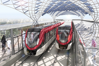 Siemens, metro's, Riyadh