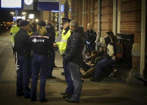 Spoorwegpolitie, Den Haag centraal