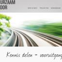 Duurzaam Spoor, website