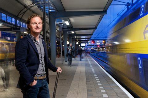 Lex van der Poel, directeur, Dual Inventive, station Den Bosch