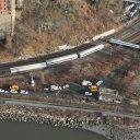 Ontsporing, trein, New York, Treinongeluk