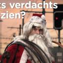 Infrabel, campagne koperdiefstal, Kerstman