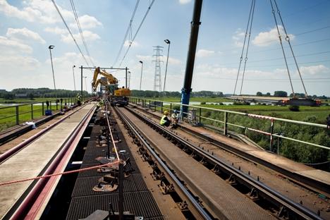 Spooronderhoud, werkzaamheden, Dura Vermeer