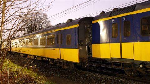 Trein ontspoord, Hilversum